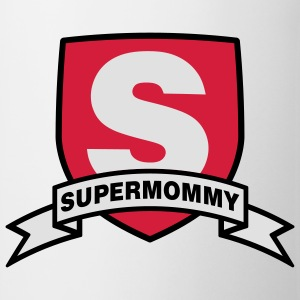 Supermommy | Super | Mom T-Shirts - Tazza