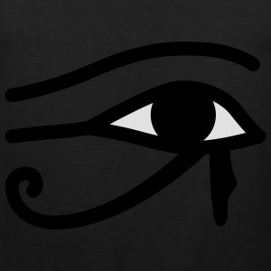 Ägyptisches Auge | Eye of Egypt T-Shirts - Herre Premium tanktop