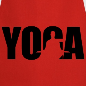 Yoga Font | Ruhe | Pause | Chillen T-Shirts - Cooking Apron