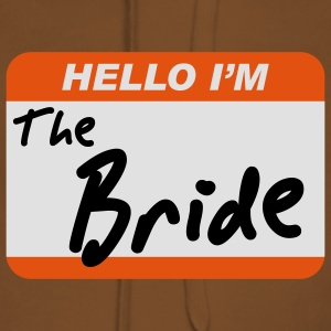 Hello I'm the Bride - Premium hettegenser for kvinner
