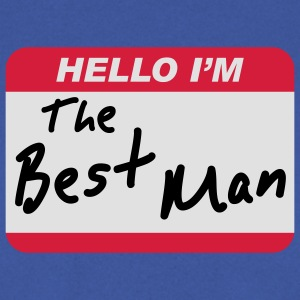 Hello I'm the Best Man - Herrtröja