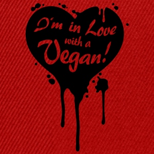 I'm in Love with a Vegan! - grrr T-Shirts - Snapback Cap