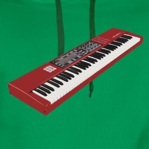 Synthesizer Electro Keyboard Design. T-Shirts - Männer Premium Hoodie
