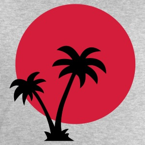 Palm Trees Sun T-Shirts - Men's Sweatshirt by Stanley & Stella
