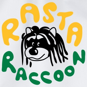 Rasta Raccoon T-Shirts - Drawstring Bag