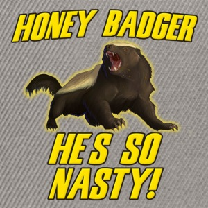 Honey Badger He's So Nasty T-Shirts - Snapback Cap