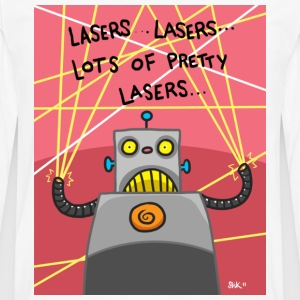 Pretty Lasers T-Shirts - Men's Premium Longsleeve Shirt