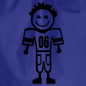 football kid T-Shirts - Turnbeutel