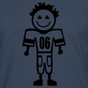 football kid T-Shirts - Männer Premium Langarmshirt
