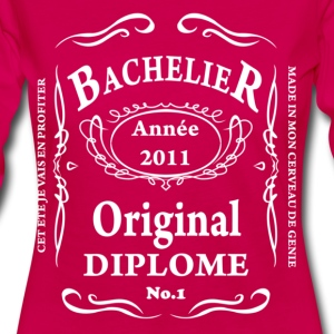 BACCALAUREAT BY TEESHIRTABLE T-shirts - T-shirt manches longues Premium Femme