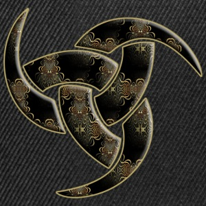 Triple Horn Of Odin - Ornament inside | Frauenshirt XXXL - Snapback Cap