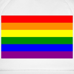 gay flag T-Shirts - Baseballkappe