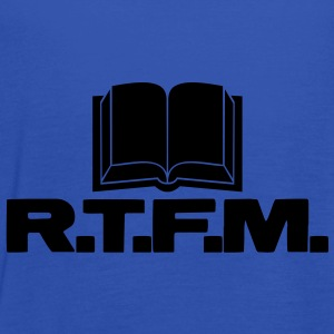 R.T.F.M. (Read The Fucking Manual) - Débardeur Femme marque Bella