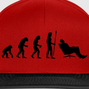evolution_chiller1 T-shirts - Casquette snapback