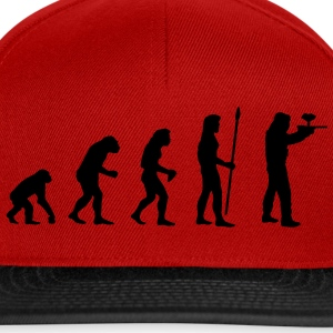 evolution_paintball1 T-shirts - Casquette snapback