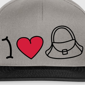 I love handbags T-shirt - Snapback Cap