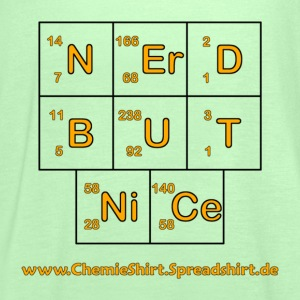 Nerd but nice W - Frauen Tank Top von Bella