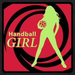 HANDBALL Girl T-Shirts - Men's Premium Longsleeve Shirt
