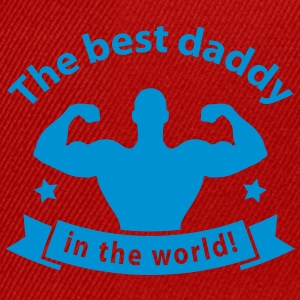 daddy_best_1 T-Shirts - Snapback Cap