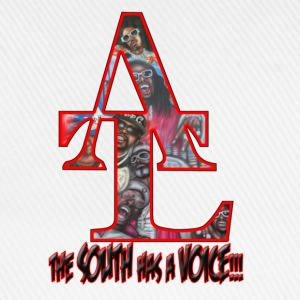 the_south_has_a_voice_red T-Shirts - Baseballkappe