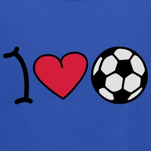 I love football T-shirts - Tanktopp dam från Bella