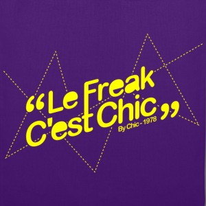 Le Freak c'est Chic Tee shirts - Tote Bag