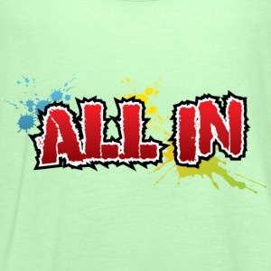 All in Graffiti T-Shirt - Frauen Tank Top von Bella