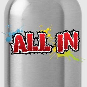 All in Graffiti T-Shirt - Trinkflasche