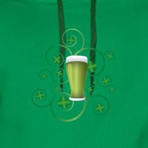 St Patricks day T-skjorter - Premium hettegenser for menn