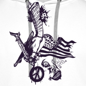US CHRONICLES By Jesse K T-shirts - Premiumluvtröja herr