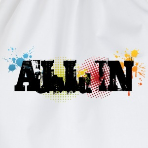 All in Graffiti T-Shirt - Turnbeutel
