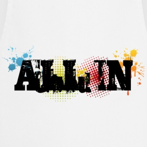 All in Graffiti T-Shirt - Kochschürze