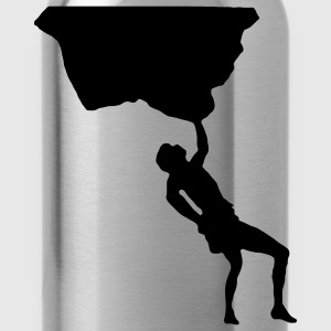Free Climbing T-Shirts - Water Bottle