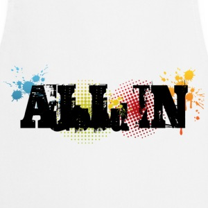 All in Graffiti T-Shirt - Keukenschort