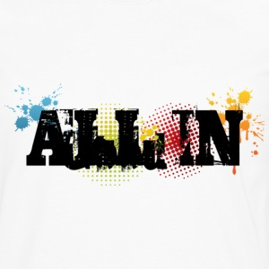 All in Graffiti T-Shirt - Långärmad premium-T-shirt herr
