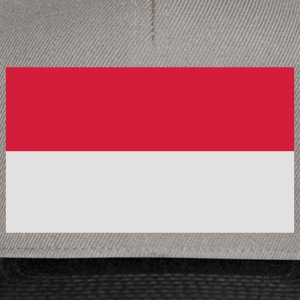 indonesia flag T-shirt - Snapback Cap