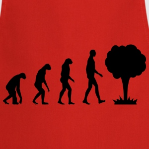 Evolution Atom Camisetas - Delantal de cocina