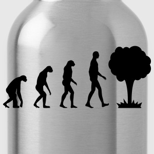 Evolution Atom T-Shirts - Trinkflasche