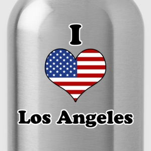 I love Los Angeles T-Shirts - Water Bottle