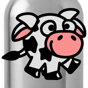 smiley_cow_3c T-Shirts - Trinkflasche