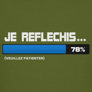 Je reflechis, patientez, please wait  - T-shirt bio Homme