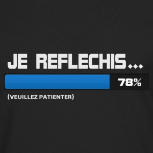 Je reflechis, patientez, please wait  - T-shirt manches longues Premium Homme