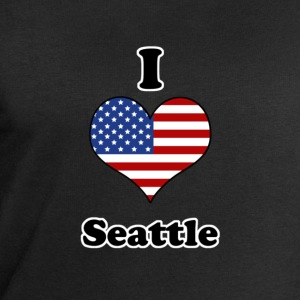 I love Seattle Tee shirts - Sweat-shirt Homme Stanley & Stella