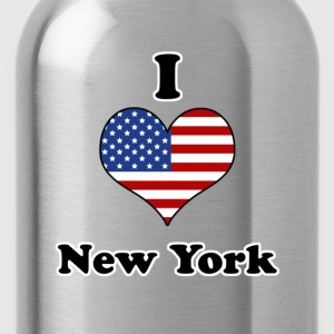 I love New York T-Shirts - Water Bottle