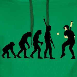 evolution_baseball_072011_a_2c Tee shirts - Sweat-shirt à capuche Premium pour hommes