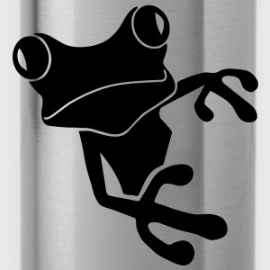 shirt frog princess prince kiss me toad squib paddock pout frogmouth mouth lips - Water Bottle