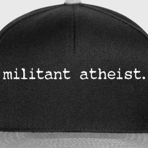 militant atheist ladies' top - Snapback Cap