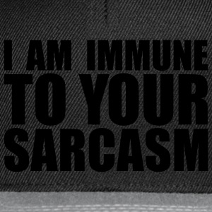 sarcasm T-shirts - Casquette snapback