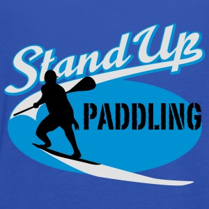 Stand Up Paddling | Surfing | Paddling T-Shirts - Women's Tank Top by Bella