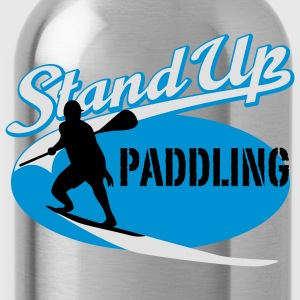 Stand Up Paddling | Surfing | Paddling T-Shirts - Water Bottle